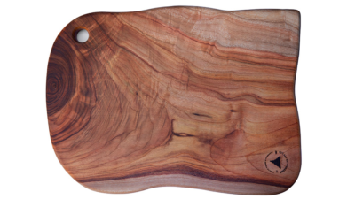CBTH1 Large Sized Curved Wooden Cutting Board
