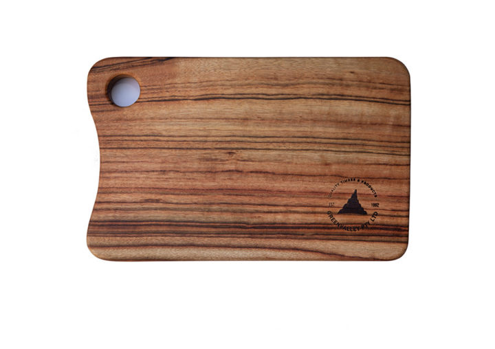 MINI small Wooden Cutting Boards with Thumb Hole